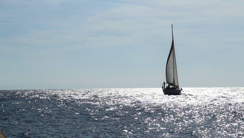 Sailing and Climbing across the aegean sea